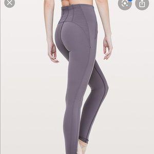 Lululemon Dancer Corsetry Tight Moonwalk size 6